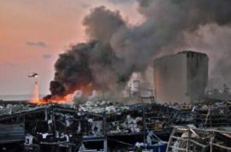 Beirut: videos muestran el momento exacto de la enorme explosión