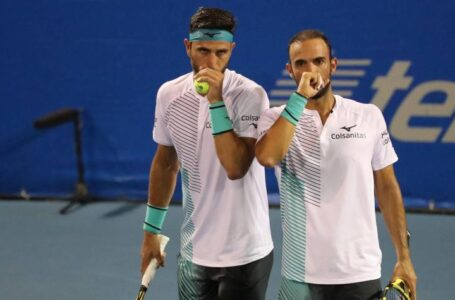 Cabal y Farah, eliminados en su debut en en el Masters de Cincinnati