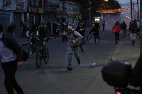 Desordenes y enfrentamientos en varios puntos de Bogotá